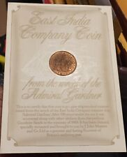 1808 East India Co X Cash Admiral Gardner Shipwreck Coin-Superb-Desktop Display