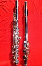 Kohlert Hammig German flute Querflöte Vollsilber solid silver flute handmade