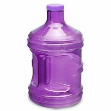 1 Gallon BPA FREE Reusable Plastic Drinking Water Big Mouth Bottle Jug