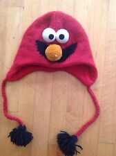 Elmo Youth Winter Hat /Laplander Hat/ Beanie W/ Fleece Liner by Delux  One Size