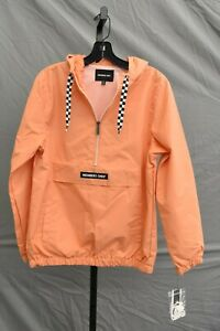 Members Only Popover Windbreaker, Women's Size XS, Coral NEW