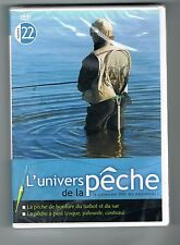 L'UNIVERS DE LA PÊCHE N° 22 - TURBOT / SAR / PÊCHE A PIED - DVD NEUF NEW NEU