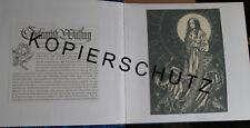 Pièce unique! Sulamith wülfing album calendrier feuilles Art-Cartes postales très belle!