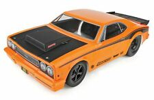 DR10 Drag Race Car, 1/10 Brushless 2WD RTR, w/ LiPo Battery & Charger, Orange