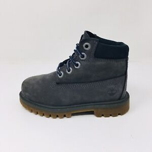 Timberland Premium (Toddler Size 8) Gray Waterproof Boots