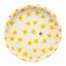 Emma Bridgewater Buttercup Deep Well Round Metal Tray
