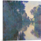 Morning on the Seine near Giverny 1897 Canvas Art Print by Claude Monet