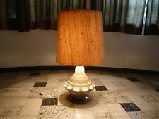 GEORGES PELLETIER Ceramic Tischlampe TABLE LAMP Keramik Lampe ACCOLAY | 1960s