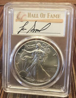 2020 P $1 PCGS MS70 Silver Eagle Emergency Issue  ⚾️ HOF Lee Smith Auto 1/50