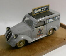 Brumm 1/43 Scale Metal Model - R45 FIAT 500 COMMERCIAL