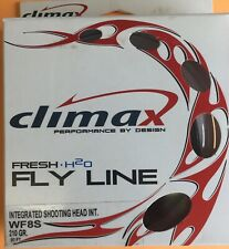 Climax Salt Water WF8S Integrated Shooting Head Fly Line