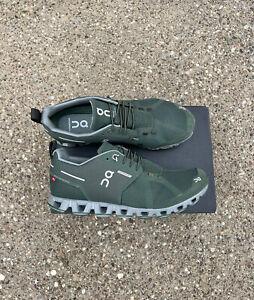 On Cloud Waterproof  Men's Size 9 M Forest Lunar Green Running Shoe Sneaker