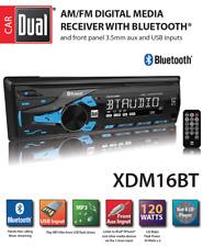 Car Dual AM/FM Digital Media Stereo Bluetooth Radio (XDM16BT) - MISSING HARDWARE