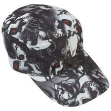 Casual Outfitters™ Red Eye Skull Design Cap