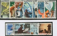 Australian Antarctic Territory: 1966-68 (SG.8-18) 1c - $1 Pictorials set (11) FU
