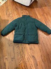 EDDIE  BAUER RIDGE LINE GOOSE DOWN GORTEX Jacket Men's M Green