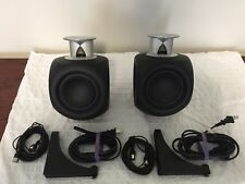 Bang & Olufsen Beolab 3  Speakers with Wall Bracket Set