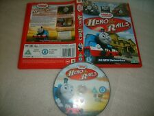 *THOMAS & FRIENDS:HERO of the RAILS* RARE UK Edition + UK Bonus Features  R2 DVD