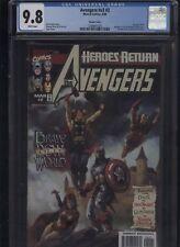 Avengers #v3 #2 CGC 9.8 - variant - Kurt Busiek GEORGE PEREZ 1998