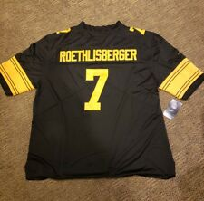 pittsburgh steelers #7 Ben Roethlisberger limited color rush jersey  sz 2XLarge