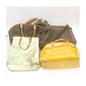 LV Vernis Damier Geant Hand Bag Boston Bag Shoulder Bag 4pc set 526405