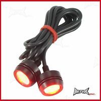 Motorcycle Motorbike Auxiliary LED Projector Brake Light / Easy to Install