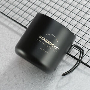 Starbucks Stainless steel Metal Cup Coffee mug 12 fl oz Classic Sakura Water Cup