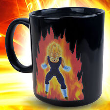 Dragon Ball Z Saiyan Vegeta Ceramic Heat Reactive Color Change  Coffee Cup Mug