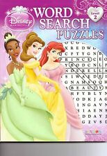 Disney Princess Activity Word Search Puzzle Book