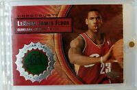 2003 03-04 Upper Deck Hardcourt LeBron James Rookie RC, Game Used Floor #LB9