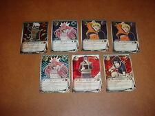 Juego de tarjetas coleccionables de Naruto