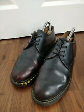 Dr Marten Archie Burgundy Shoes Made In England Womens Size UK 5