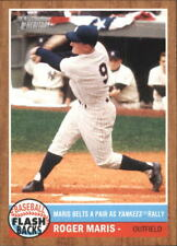 2011 Topps Heritage Baseball Flashbacks #BF-3 Roger Maris New York Yankees