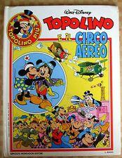 TOPOLINO PIU' N°  2 - TOPOLINO E IL CIRCO AEREO - CARTONATO 1983