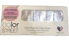 Discontinued Color Street Nip North Pole Stroll Snowflake Nail Polish Strips