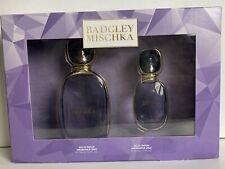 Badgley Mischka Eau De Parfum Gift Set Perfume Spray 3.4 & 1 oz Floral Fragrance