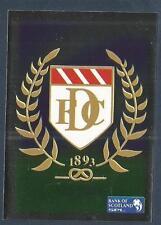 PANINI SCOTTISH PREMIER LEAGUE 2000- #081-DUNDEE TEAM BADGE-SILVER FOIL