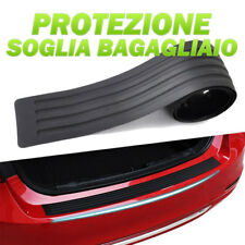 Protezione per Paraurti Posteriore Protezione per Paraurti Posteriore Copertura in Gomma per Protezione dei Graffi del Bagagliaio Compatibile con Auto Nero