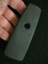 NICE AUTHENTIC BANDED SLATE TRAPEZOIDAL PENDANT FROM BUTLER CO., OHIO