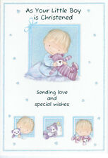 """Various """"Christening for Boy"""" Cards"""
