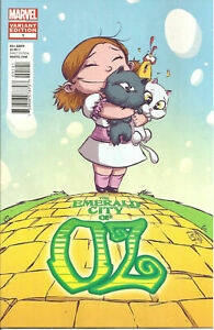 Emerald City Of Oz  #1  Scottie Young  Cover Variant nm