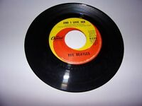 The Beatles: And I Love Her / If I Fell / 45 Rpm / 1964 / Capitol 5235 VG Oldies