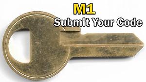 Master Lock (M1) 4 Pin Code Cut Key | Send Your Code, We Cut It! |