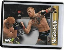 """2015 Topps UFC Champions Gold Parallel """"NOTORIOUS"""" CONOR MCGREGOR 21/25"""