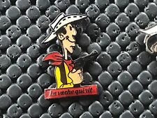 pins pin BADGE BD LUCKY LUKE LA VACHE QUI RIT