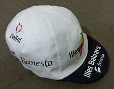 Retro Illes Balears Banesto 2004 Pro Cycling Team vintage cotton cap