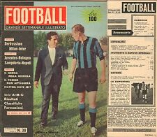 RIVISTA-CALCIO-FOOTBALL-SETTIMANALE ILLUSTRATO-NOVEMBRE 1960-DERBY-MILAN INTER