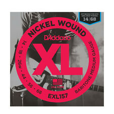 D'Addario EXL157 XL Nickel Wound Baritone-Medium 014-068 Electric Guitar Strings