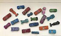 Awesome Lot of 21 Vintage Diecast TOOTSIETOYS CARS TRUCKS Tootsie Toy