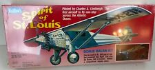 Guillow's Spirit of St. Louis Flying Scale Balsa Wood Model Airplane Kit GUI-807